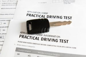 Driving test application