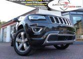 Jeep Grand Cherokee Overland Negro Quierocompraruncoche Concesionario Ajalvir Madrid
