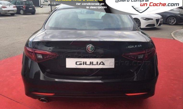 Alfa Romeo Giulia 2.2 JTD 150cv Giulia Negro Quierocompraruncoche