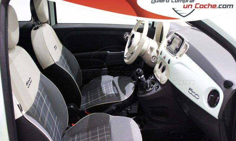 Fiat 500 1.2 69cv Lounge Verde Lattementa Quierocompraruncoche Concesionario Madrid Ajalvir