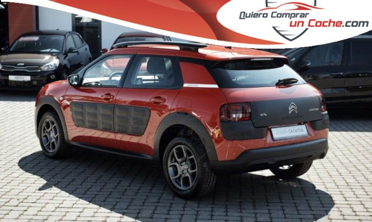 citroen c4 cactus 1 6 hdi feel edition 100cv quiero comprar un coche. Black Bedroom Furniture Sets. Home Design Ideas