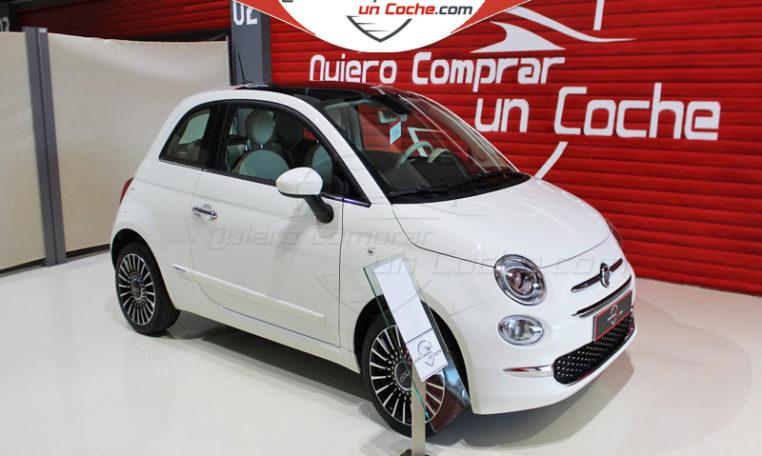 FIAT 500 LOUNGE BLANCO GELATO QUIERO COMPRAR UN COCHE AJALVIR MADRID OFERTA