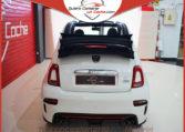 Abarth 595c Pista Cabrio Blanco Quierocompraruncoche Madrid Ajalvir Concesionario Oferta