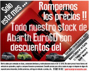 Rompemos los precios Abarth Diciembre