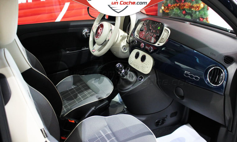 FIAT 500 LOUNGE 1.2 E6D AZUL DI PINTO DI BLU KM0 QUIERO COMPRAR COCHE AJALVIR MADRID