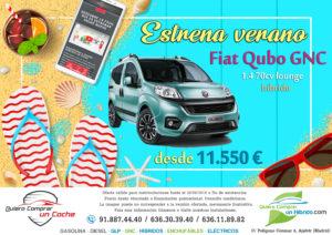 OFERTA FIAT QUBO GNC HIBRIDO QUIERO COMPRAR UN COCHE MADRID AJALVIR