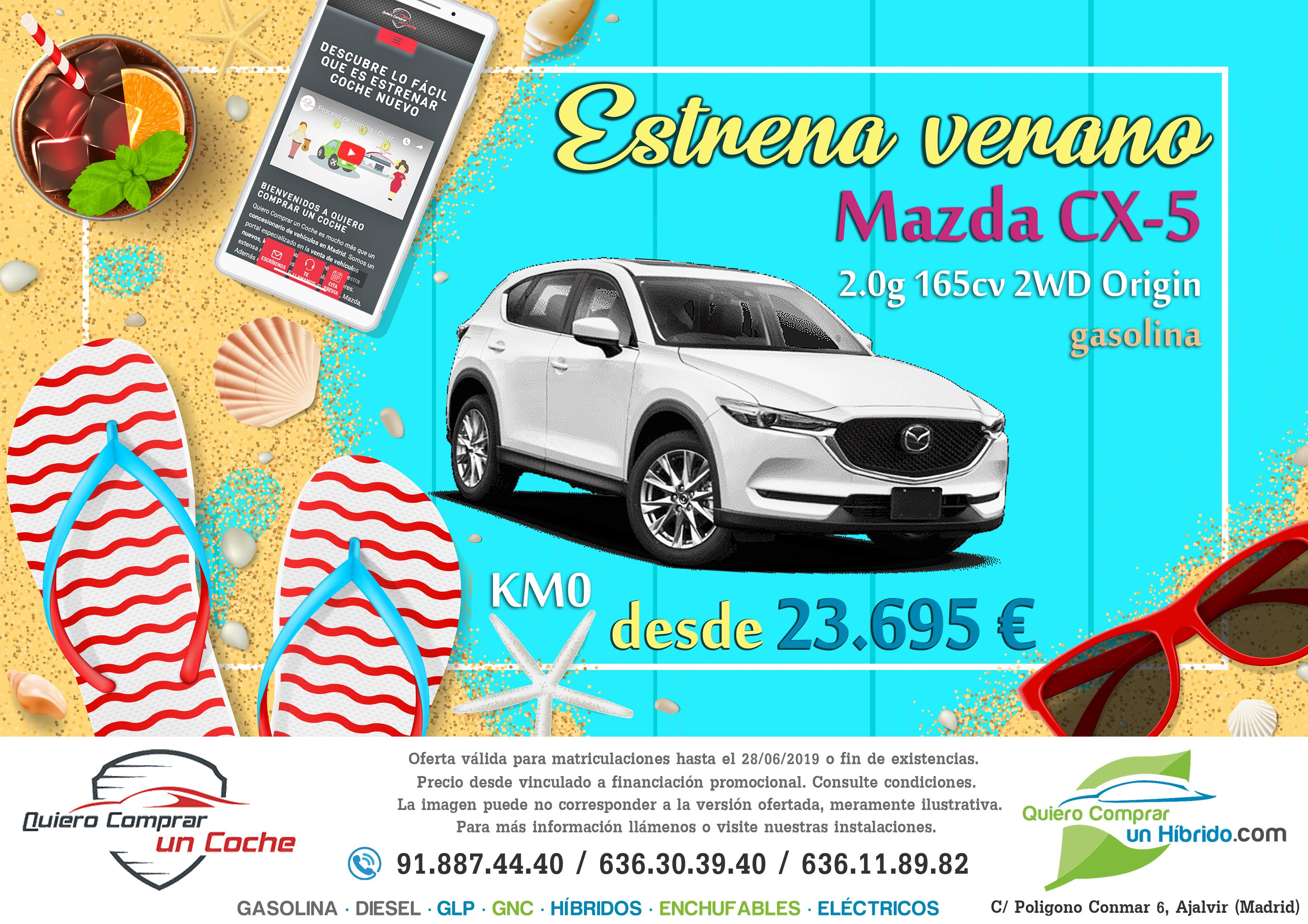 MAZDA CX5 OFERTA QUIERO COMPRAR UN COCHE MADRID AJALVIR