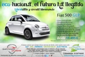 SUPEROFERTA FIAT 500 GLP LOUNGE HIBRIDO