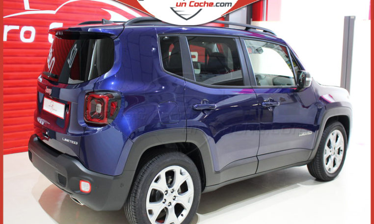 JEEP RENEGADE 1.3 DDCT 150cv LIMITED 4X2 AZUL JET SET