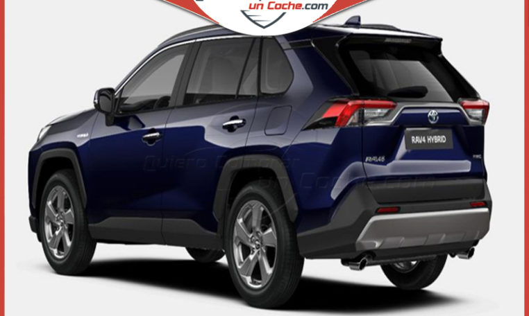 TOYOTA RAV4 220H LUXURY AZUL ORION