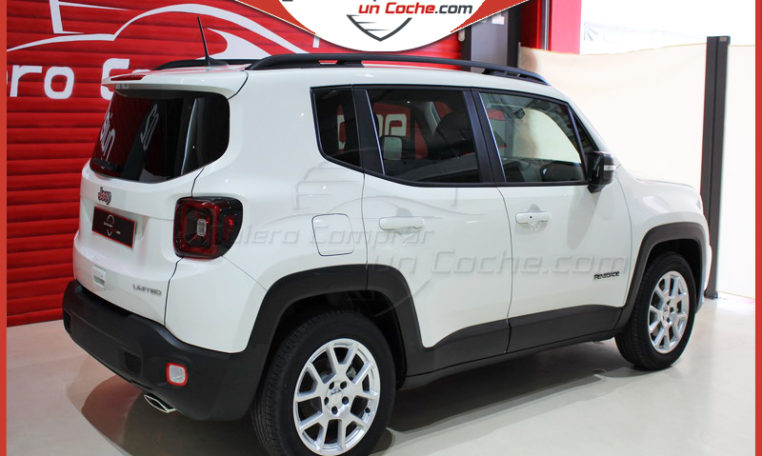 JEEP RENEGADE DDCT LIMITED BLANCO ALPINE LLANTA SERIE
