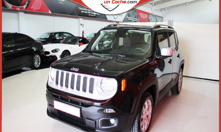 JEEP RENEGADE S3 LIMITED NEGRO