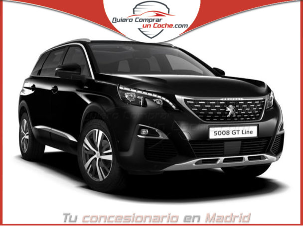 PEUGEOT 5008 GT LINE NEGRO AT