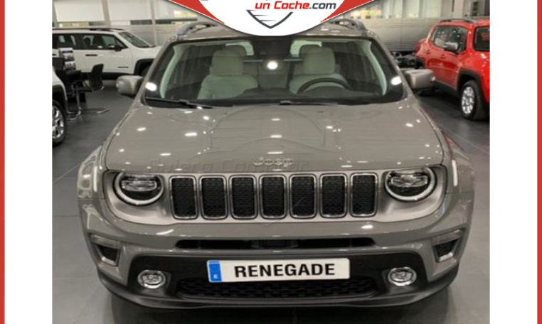 JEEP RENEGADE MY19 LIMITED GRIS STING