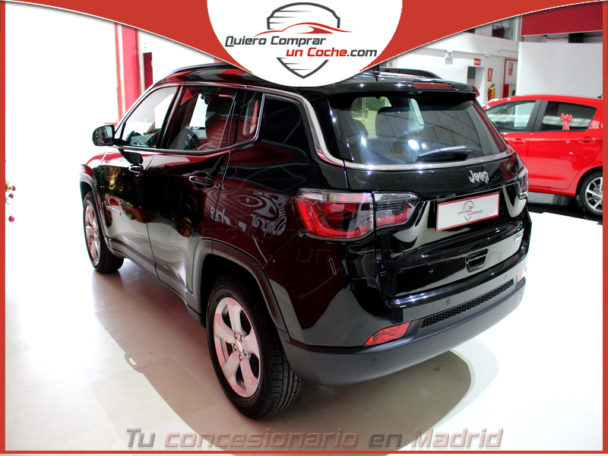 JEEP COMPASS LONGITUDE NEGRO INT BEIGE