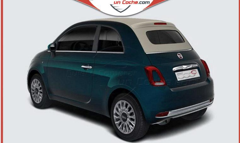 FIAT 500C STAR AZUL DI PINTO DI BLU CAPOTA BEIGE