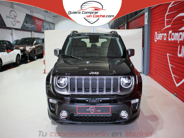 JEEP RENEGADE MY19 LIMITED NEGRO CARBON