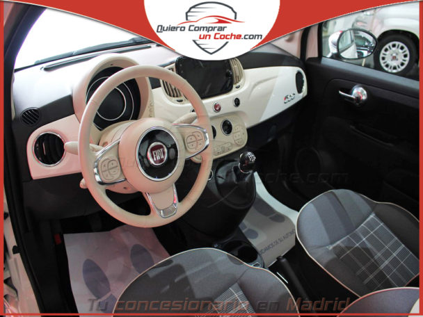 FIAT 500 GSE HYBRID LOUNGE BLANCO GELATO