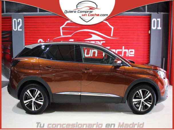 PEUGEOT 3008 ALLURE EAT8 METALLIC COPPER