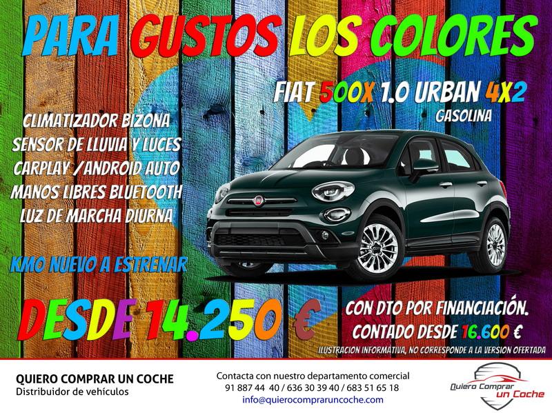 CAMPAÑA FIAT 500X