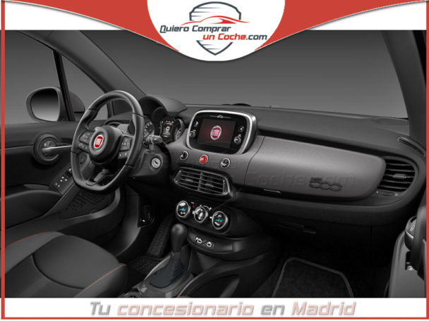 FIAT 500X SPORT DCT GRIS MATE