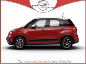 FIAT 500L CROSS ROJO PASSIONE BICOLOR TECHO BLANCO