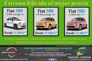 CAMPAÑA FIAT 500 HIBRIDOS