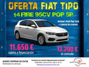 PROMO FIAT TIPO POP 5P