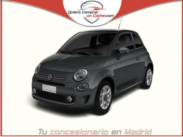 FIAT 500 S HIBRIDO GRIS CARRARA
