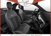 FIAT 500C SERIE 8 S HIBRIDO NEGRO VESUVIO CAPOTA GRIS