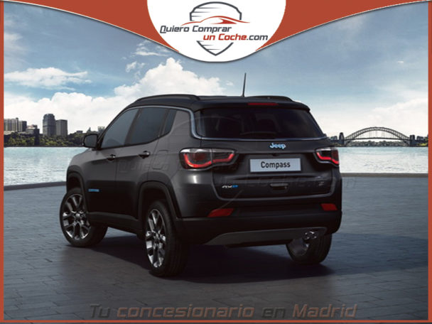 JEEP COMPASS S NEGRO CARBON