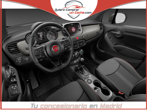 FIAT 500X SPORT AUTOMATICO ROJO SEDUZIONE BICOLOR