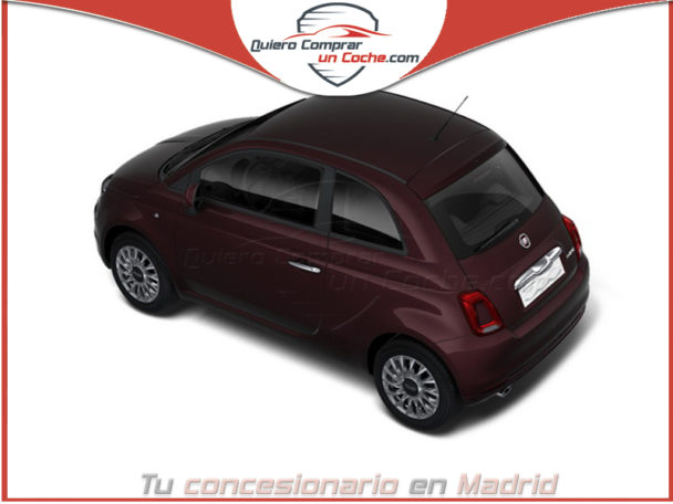 FIAT 500 SERIE 8 LOUNGE HIBRIDO BORDEAUX OPERA