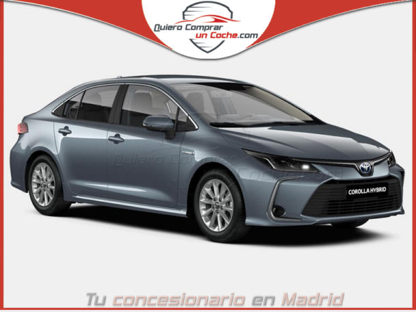 TOYOTA COROLLA SEDAN ACTIVE TECH GRIS CELESTITA