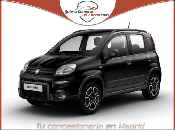FIAT PANDA MY21 CITY LIFE NEGRO CINEMA