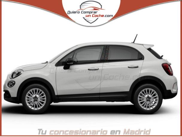 FIAT 500X MY21 URBAN HEY GOOGLE BLANCO GELATO LLANTAS PLATA 43 CM