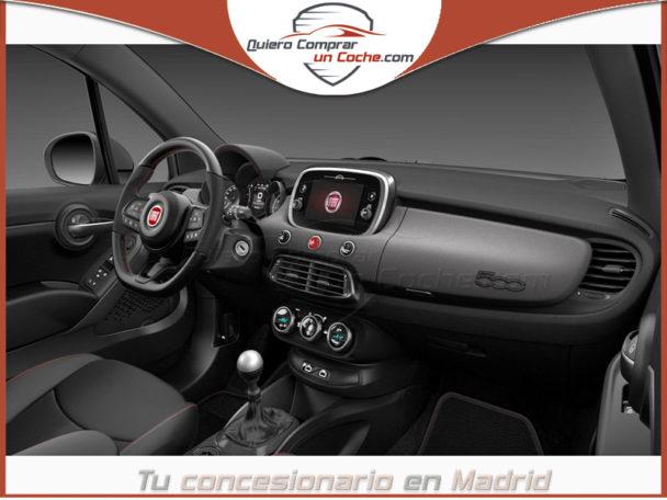 FIAT 500X MY21 SPORT LLANTAS 48CM TECHO PANORAMICO GRIS MODA MATE