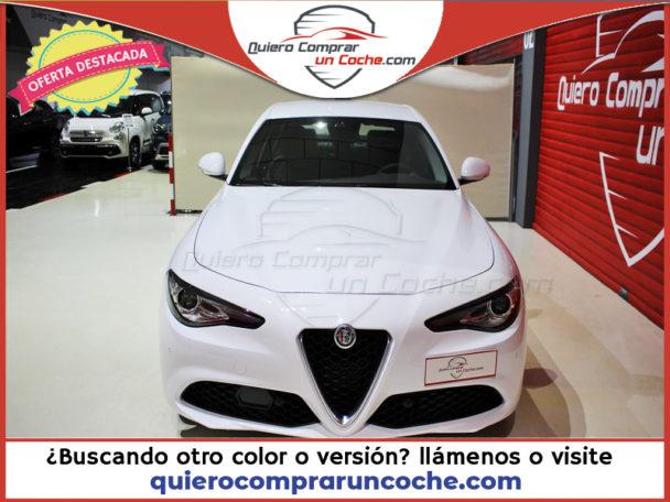 ALFA ROMEO Giulia MY19 Executive 2.2 Diesel 190cv AT RWD BLANCO PASTEL
