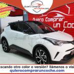 TOYOTA C-HR 2019 125H ADVANCE PLUS + LUXURY BITONO BLANCO PERLADO